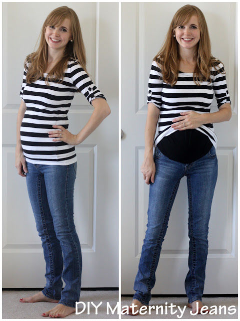 Diy Maternity Jeans Pictures Photos And Images For