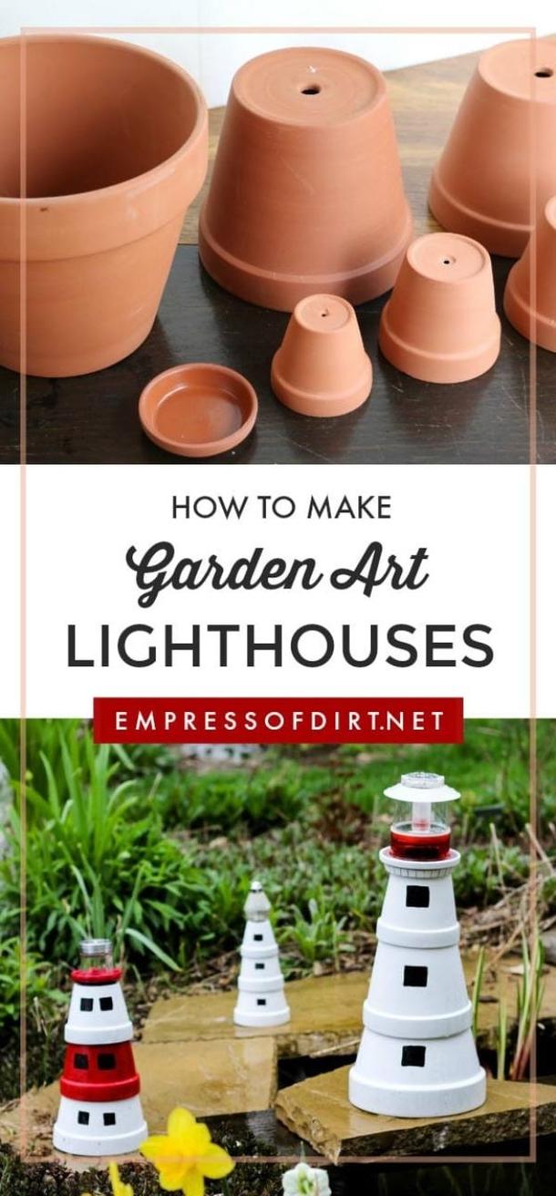 10 Beautiful Creative Clay Pot Ideas