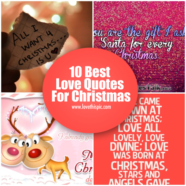 10 Best Love Quotes For Christmas