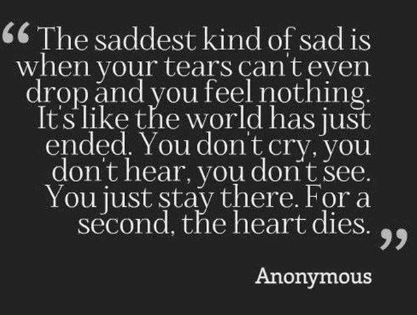 10 Depressing Quotes When You Are Feeling Down And Alone