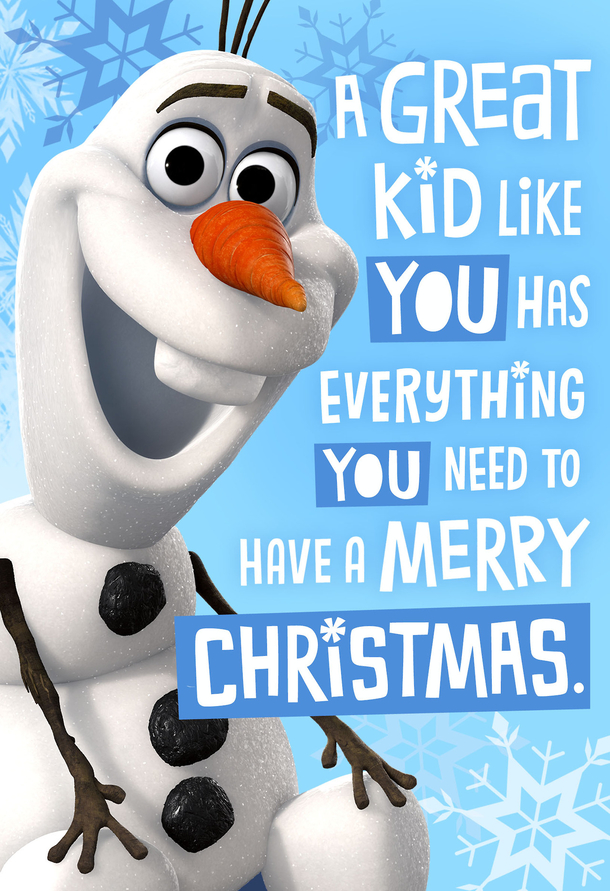 10 Frozen Quotes / Pictures For Christmas