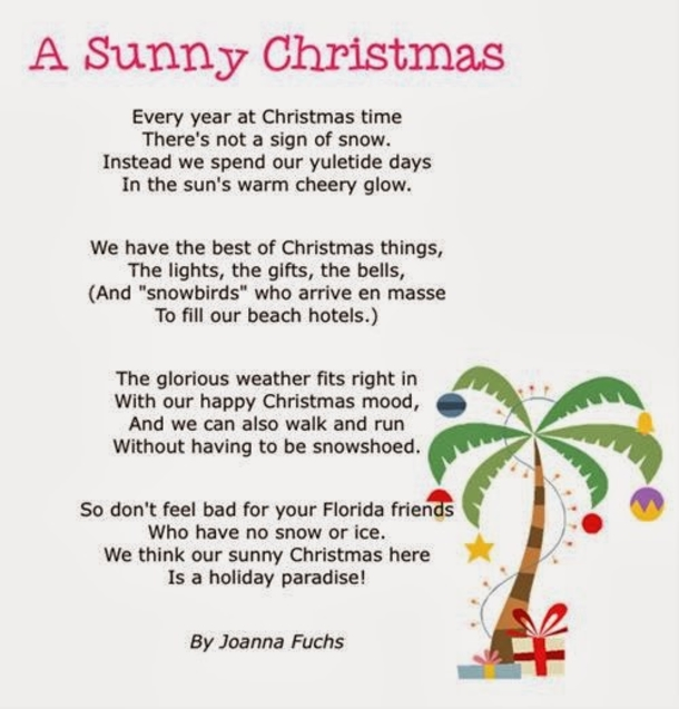 Christmas In Florida Quotes.10 Funny Christmas Poems To Enjoy