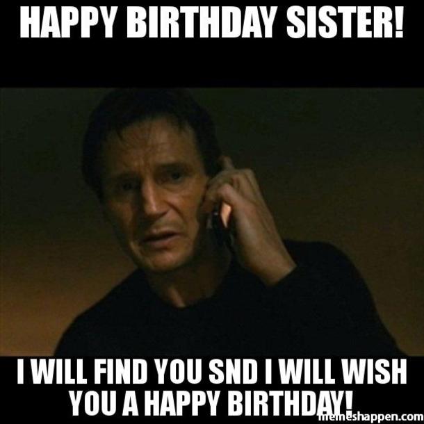 Happy Birthday Big Sister Meme