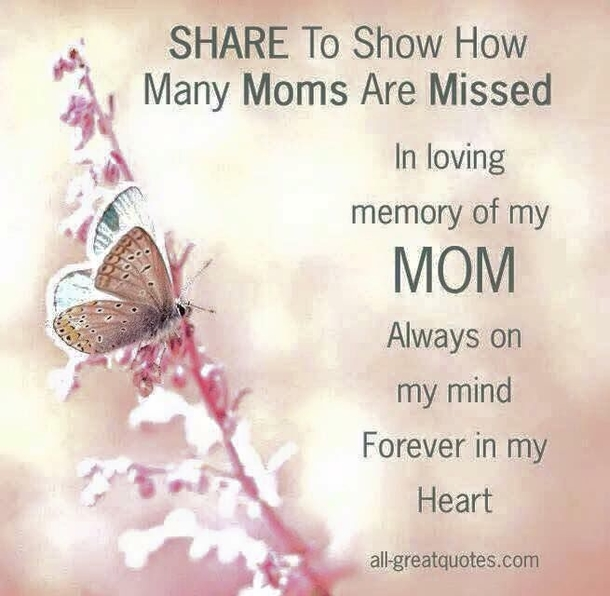 10 Image Quotes For Moms In Heaven On Mother\'s Day