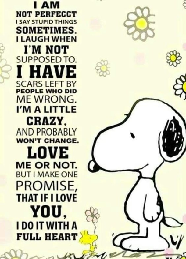 10 Inspiring Snoopy Quotes That Express Love
