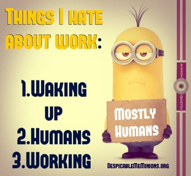 10 Minion Quotes About Work