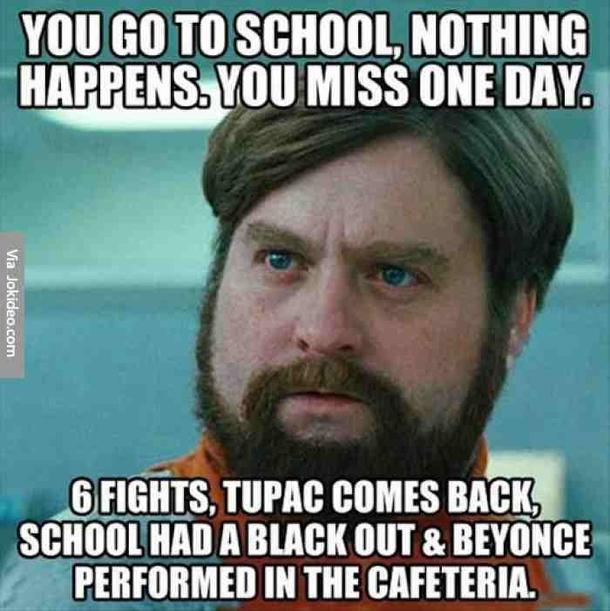 10 Wacky Funny School Memes