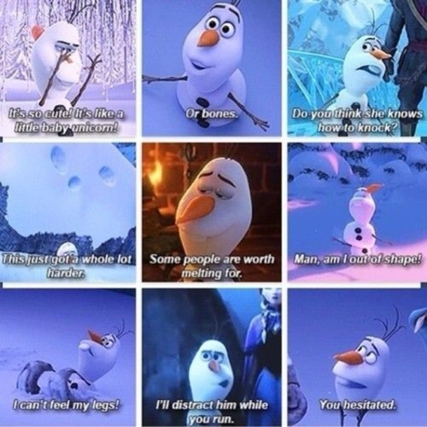 best olaf quotes sayings
