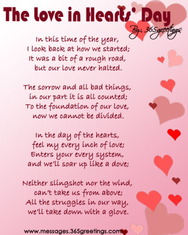 12 Valentine's Day Love Poems