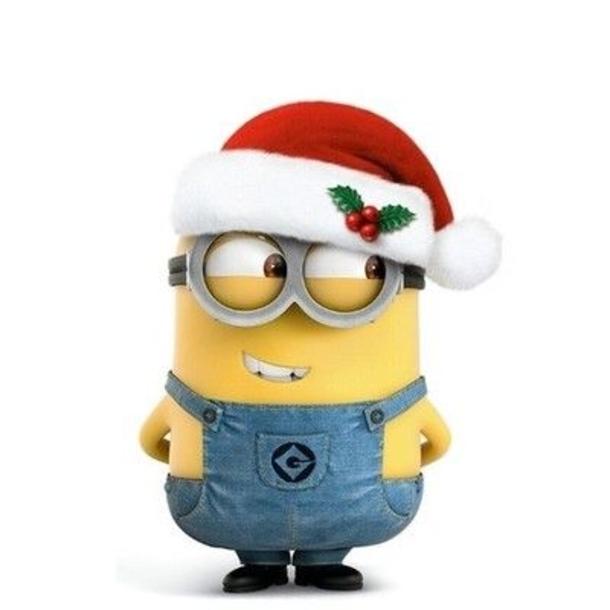 Minion Christmas Santa Clip Art