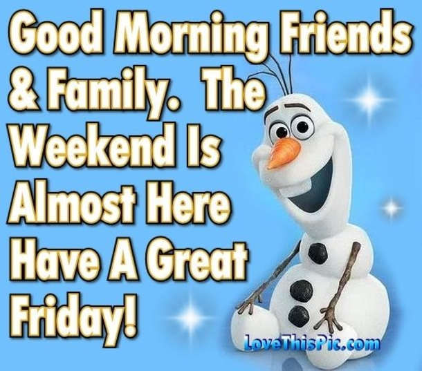 20 Best Good Morning Happy Friday Quotes