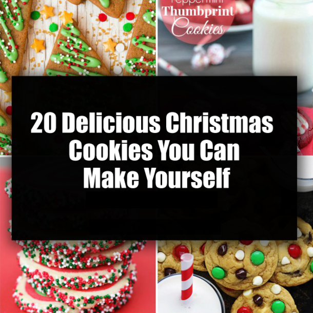 20 Delicious Christmas Cookies You Can Make Yourself