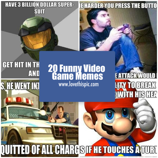 20 Funny Video Game Memes