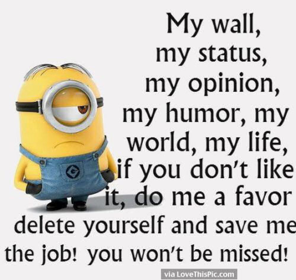 Image of: Whatsapp Dp Lovethispic 50 Hilariously Funny Minion Quotes With Attitude