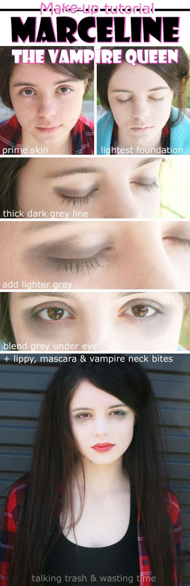 Easy Halloween Makeup Scary.50 Scary Halloween Makeup Ideas