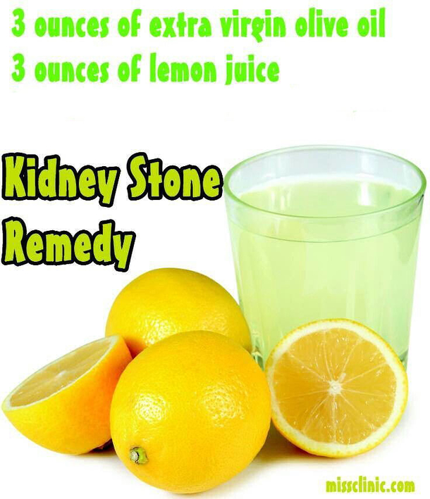 A Very Effective Home Remedy For Kidney Stones