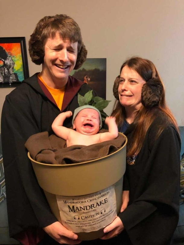 Halloween Costumes For Couples And Baby.Couple Breaks The Internet With Harry Potter Themed Halloween