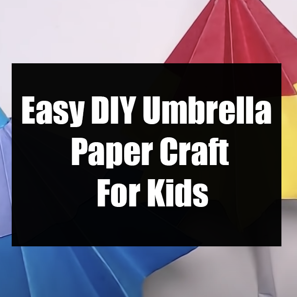 2 Easy Ways to Make a Paper Cocktail Umbrella - wikiHow | 610x610