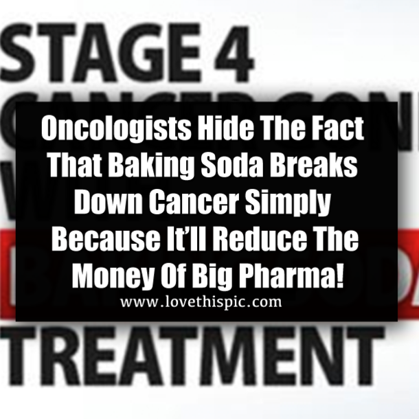 Oncologists Hide The Fact That Baking Soda Breaks Down