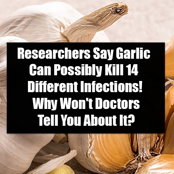 Researchers Say Garlic Can Possibly Kill 14 Different Infections