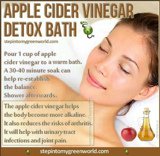Soak Your Feet In Apple Cider Vinegar And You Will Have These