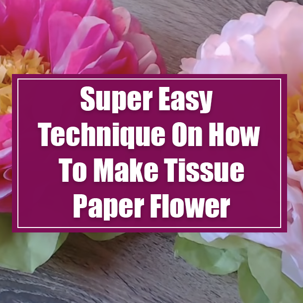 How to make Zinnia Flower With Paper    DIY Handmade Stick Flower ...   610x610