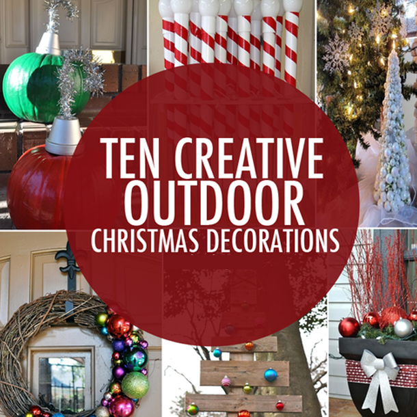 Outdoor Christmas Decorations Images.Ten Creative Outdoor Christmas Decorations
