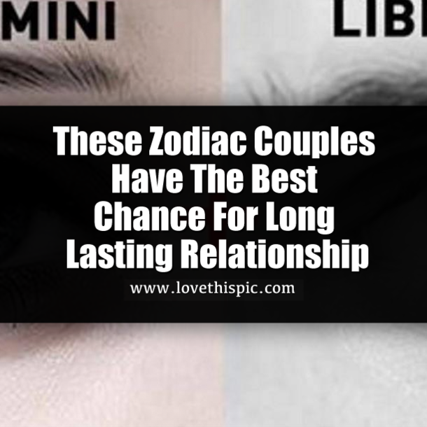 Is best couple zodiac the which 25 Zodiac