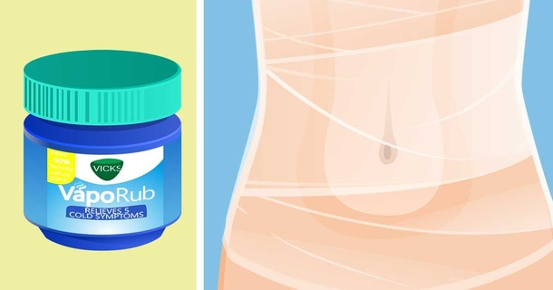Use Plastic Wrap And Vicks VapoRub To Tighten Your Tummy, Here's How
