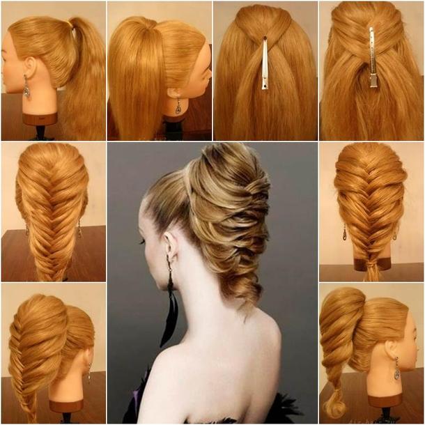 Phenomenal Diy Braided Fishtail Hairstyle Schematic Wiring Diagrams Phreekkolirunnerswayorg
